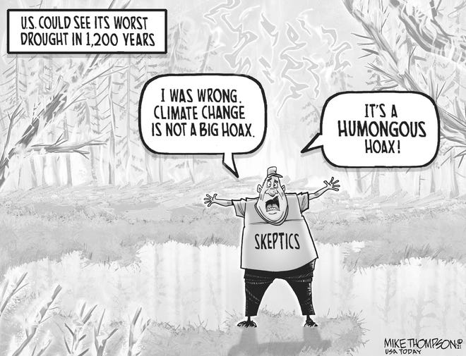 Droughts, floods and climate change skeptics