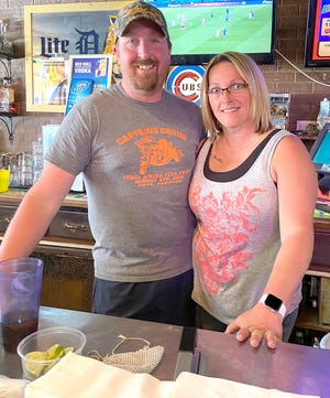 Eric and Natasha Fisel, co-owners of Pigeon Inn, say offering delivery and support from the community are what saved the business during the pandemic.