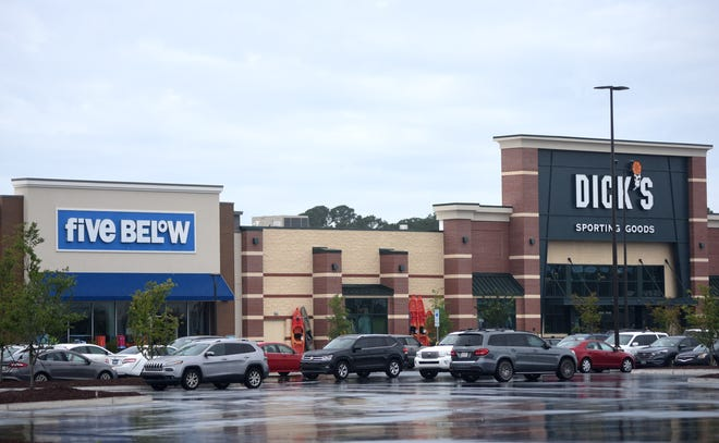 Independence Mall opened several new stores within the past year on the outside of the mall as part of their redesign in Wilmington, N.C., Tuesday, June 22, 2021.     [MATT BORN/STARNEWS]
