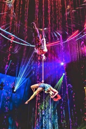 Cirque Italia will bring its water circus to Topeka July 1-11 at Heartland Motorsports Park.