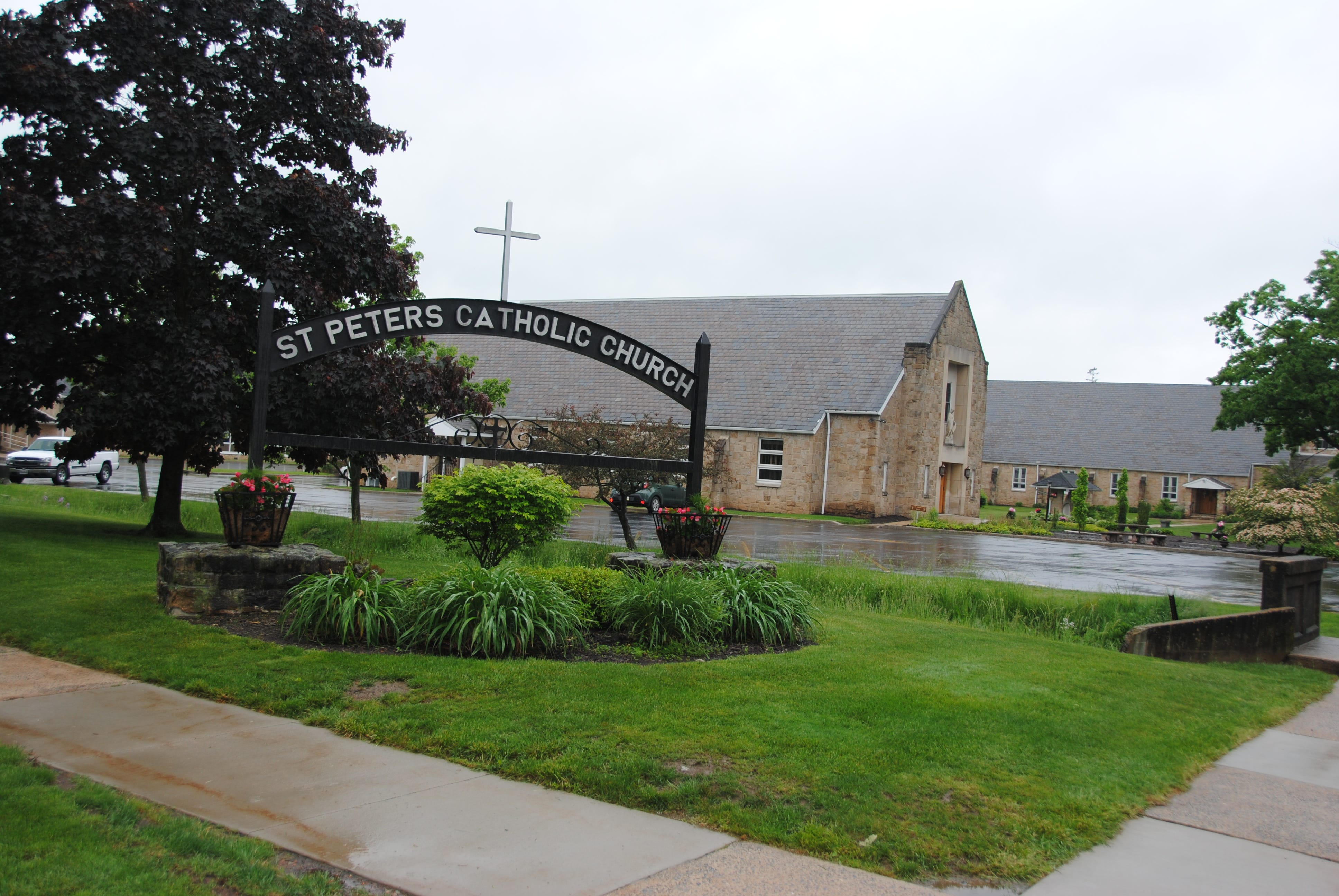 Janet and Marisa Shuglie may have been walking toward St. Peter's Catholic Church in Somerset before they disappeared in 1985.