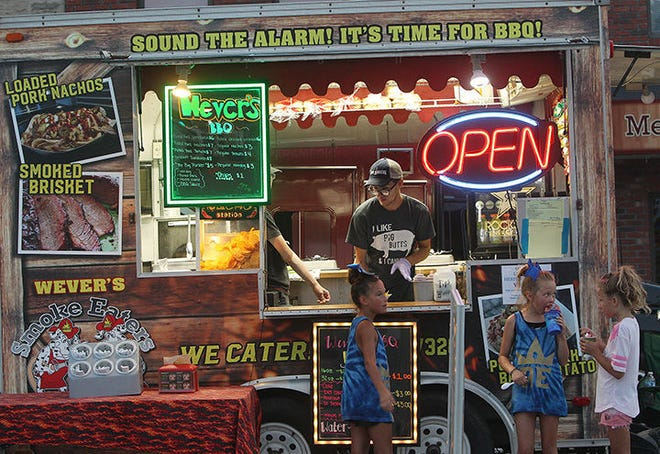 Wevers Smoke Eaters BBQ is one of several food vendors scheduled to be at this year's Limestone Heritage Festival.