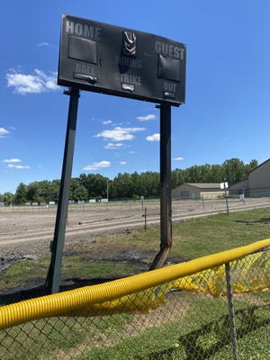 PYAA Commissioner Beth Andrews said replacement of the scoreboard damaged at the complex is expected to cost $12,000. The scoreboard was damaged in an incident June 10.