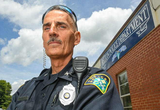 Belton Police Chief Robert Young said he plans to retire at the end of June 2021.