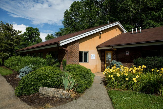 The WNC Birth Center on South French Broad Avenue in Asheville, which announced it will close on July 20.