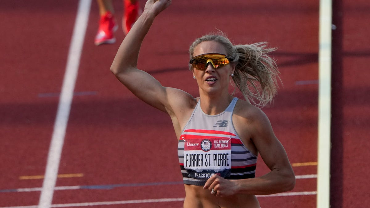 Olympics track: Race results for Vermont native Elle Purrier St. Pierre in women's 1500m