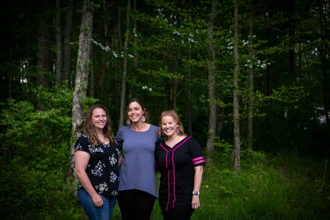 Amy Polly, Gloria Settelmayer and Amanda Greenberg grew up in the same small town of Goshen Township, Ohio. As the years went by, their relationship grew. In 2017, Polly volunteered to be a surrogate for Settelmayer after Settelmayer had trouble carrying a viable pregnancy. Recently, Greenberg volunteered to do just the same.
