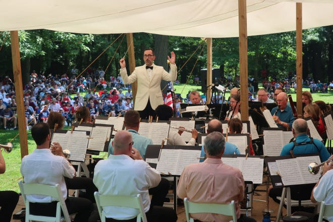 The Toledo Concert band has performed the Independence Day Concert at the Hayes Presidential Library and Museums since 1997. This year, the concert is from 2 to 3:30 p.m. July 4, at Spiegel Grove.