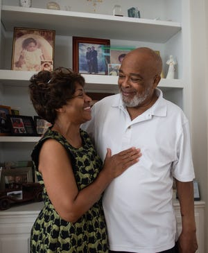 Rev. Windell Rodgers and his wife, Patricia, in their home in Pelzer, S.C. Tuesday, June 22, 2021.