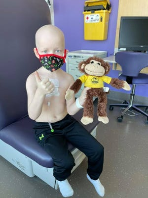 Seven-year-old Tyler Juhl of Solon, Iowa was diagnosed with B-cell acute lymphoblastic leukemia in August 2020. His family has held multiple blood donation events in his honor in partnership with the University of Iowa Hospitals & Clinics and the DeGowin Blood Center.