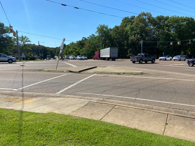 The Highland Avenue-North Parkway crossing in Jackson is one of the busier intersections in the city.