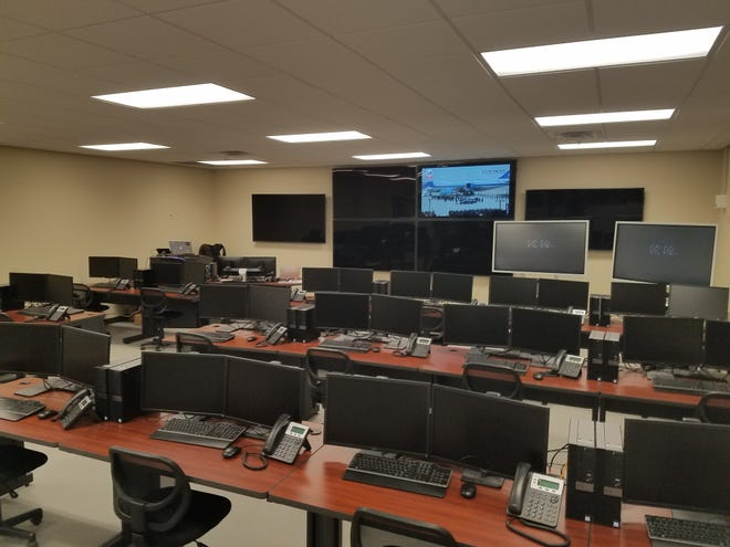 """""""The cyber defense lab is set up to mimic what a cyber ops lab would look like in a government facility,"""" said Tammie Bolling, chair of the computer information technology department at Pellissippi State Community College. Students in the program get hands-on experience with hacking and defending systems."""