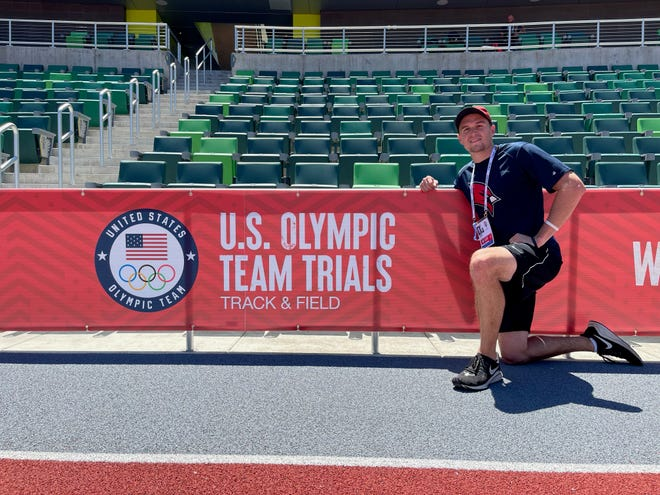 Sam Black of Pinckney placed 10th in the decathlon at the U.S. Olympic Team Trials at Hayward Field in Eugene, Ore.