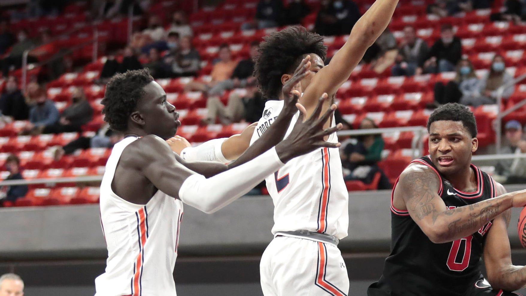 Auburn Basketball S Sharife Cooper Jt Thor At 2021 Nba Draft Combine