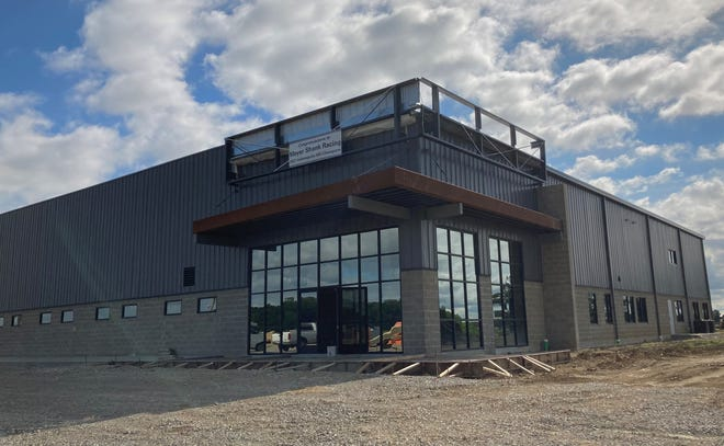 The new Meyer Shank Racing headquarters is nearing completion in the Pataskala Corporate Park. The city is planning a July 24 parade to honor the team's recent Indy 500 win.