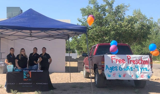 The Family Resource Center at 500 East Oak Street held a registration day for free preschool under the Home Education Livelihood Program-New Mexico (HELP-NM) watch. The center provides daycare for infants (six week) and toddlers, and Head Start and New Mexico Pre-K for families.