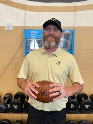 Dustin Johnson has been hired to lead Verrado football program. Photo courtesy of Dustin Johnson