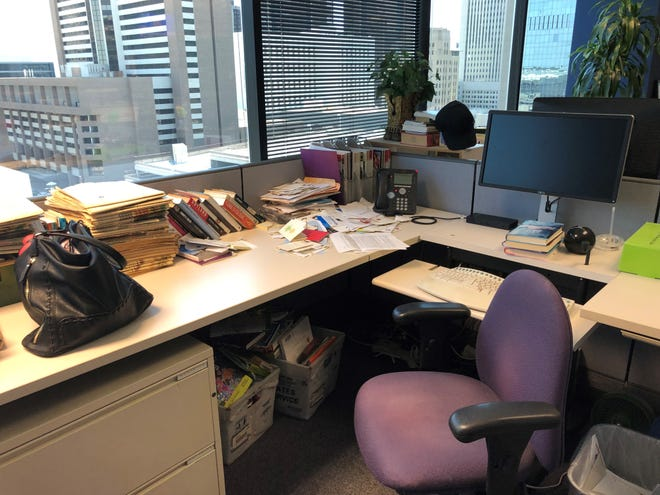 This would be the last time I packed up my desk at The Arizona Republic.