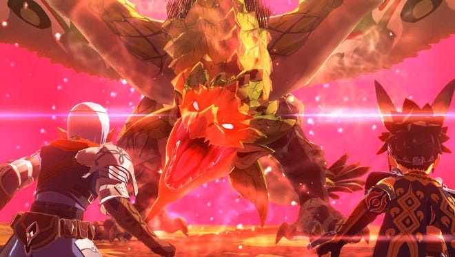 Monster Hunter Stories 2: Wings of Ruin for the Nintendo Switch and PC.
