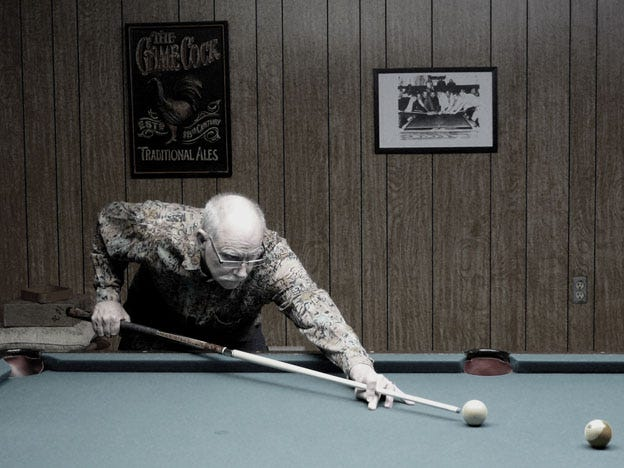 John Thomas started shooting pool around 10-years-old. He now has a lifetime of experience on the pool table.
