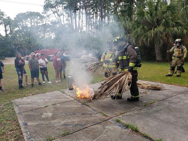 Wakulla teens complete emergency response training.