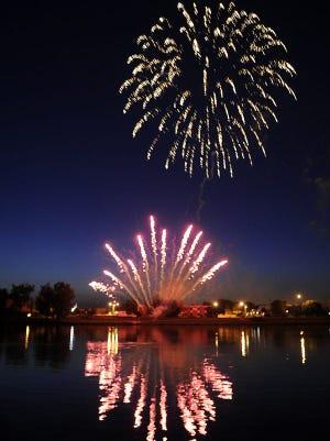 Firework Display Northeastern Wisconsin