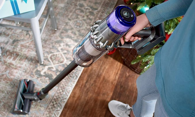 The Dyson V11 Torque Drive vacuum is one of the best vacuums we've ever tested and you can get it for under $600.
