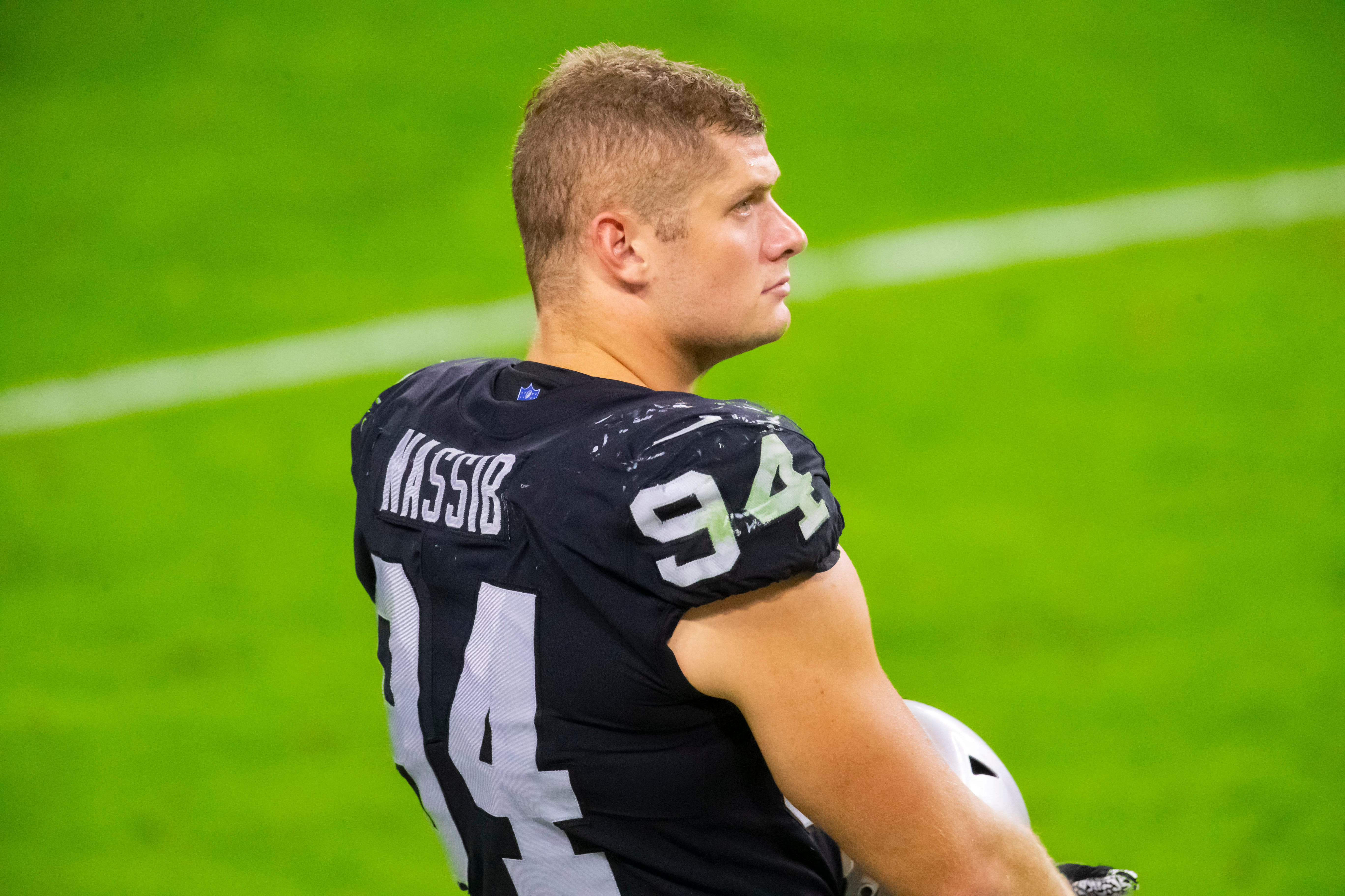 Opinion: Carl Nassib s coming out doesn t just make history. Raiders DL could save lives