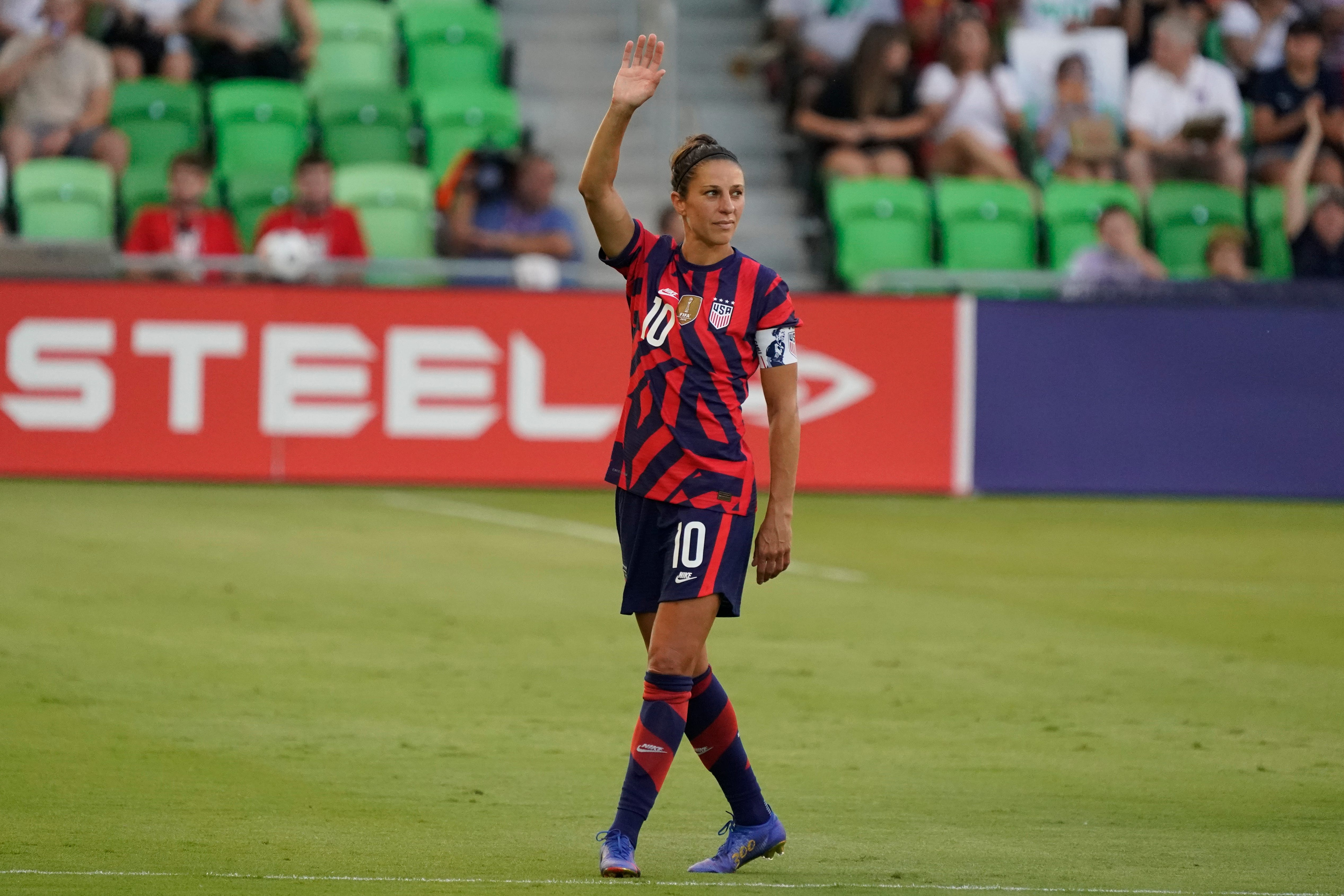 Carli Lloyd makes history as USWNT soccer roster for Tokyo Olympics is announced