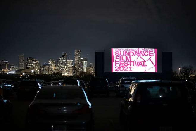MoonStruck Drive-In opened in Houston, seen here, last year. Now they're setting up shop in Austin, too.
