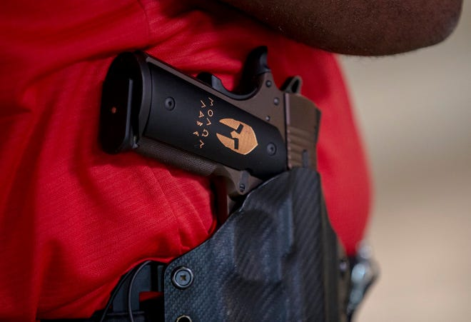 A new law in takes effect Wednesday that allows most adult Texans to carry firearms without permits