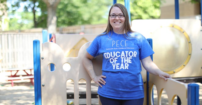 Randi Warrick, who for almost 10 years now has taught 1-year-olds at the Amarillo College Child Development Lab School, has been named Educator of the Year by the Panhandle Early Childhood Educators (PECE).