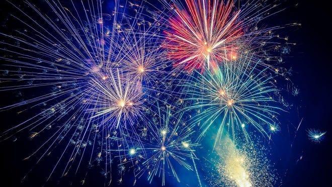 Fireworks shows are plentiful in the tri-county area.