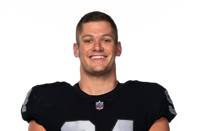 Las Vegas Raiders defensive end Carl Nassib is the first active NFL player to announce he is gay.
