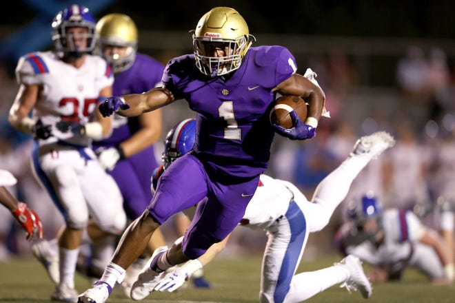 Dallan Hayden rushed for 2,010 yards and 24 touchdowns in nine games last year.