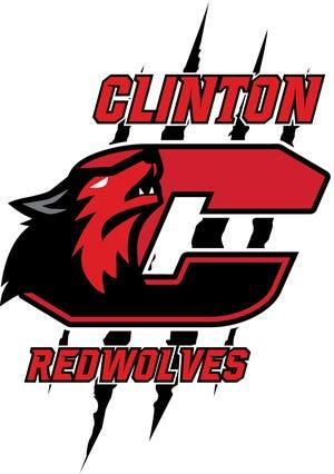 Clinton's new Redwolves logo