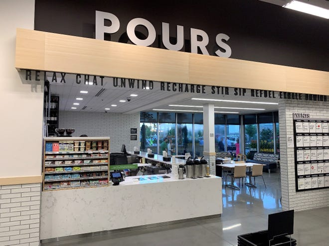 Publix plans to offer beer, wine, coffee and more from its POURS area when it opens in the former Lucky's Market in Neptune Beach.
