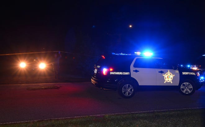 One person has died and three others were injured in a shooting on Old Canaan Road in Spartanburg County. The Spartanburg County Sheriff's Office and Spartanburg County Coroner's Office were on the scene of the incident Tuesday night, June 22, 2021.