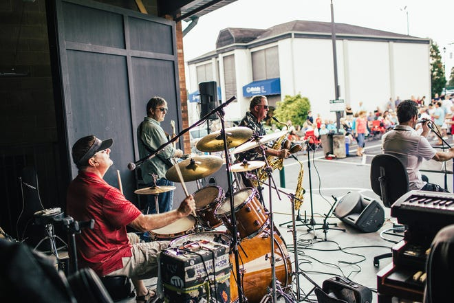 Kick off the summer weekends with fun, upbeat music at Hendersonville's Music on Main concert series every Friday night from July 9 through Aug. 27.