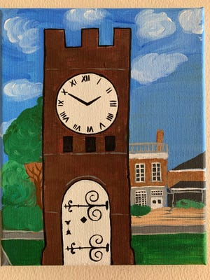 Hudson seniors will learn to paint the Hudson Clock Tower on July 14.