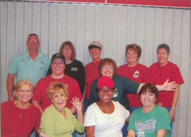 Pictures of the Past is from the 2011 Lincoln Community High School yearbook. It shows the cafeteria workers. From left in front are: Theresa McGee, Kay Przykopanski, Tracy Farmer and Debra Kelly. Second row from left: Sheila Sheley and Melissa Short. Third row from left: Gary Schaffer, Lori Lawson, Ann Hamblin, Mary Morris and Julie Mittlesteadt. Not pictured are Gloria Brewer and Judy Parsons.