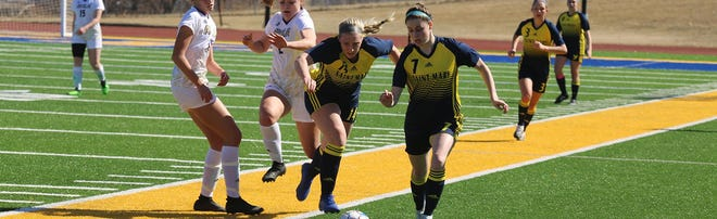 Shown is University of Saint Mary sophomore Sydney Howell. The Leavenworth High School alum is entering her second season with the Spires.