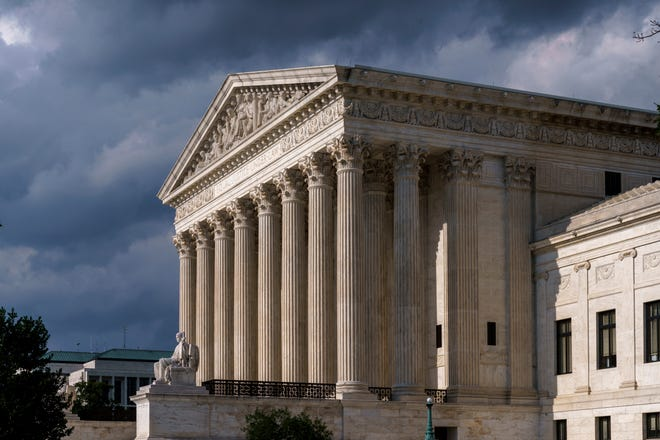 This June 8 photo shows the Supreme Court in Washington.