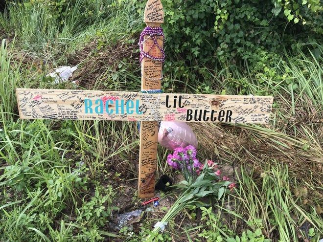 """Rachel """"Lil Butter"""" Buttermore memorial"""