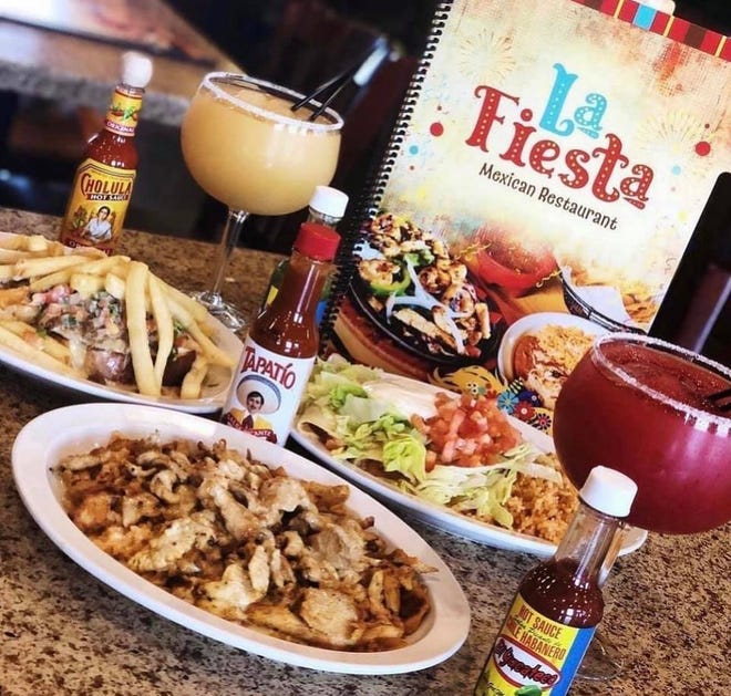 A selection of dishes available at the Morton location of La Fiesta.