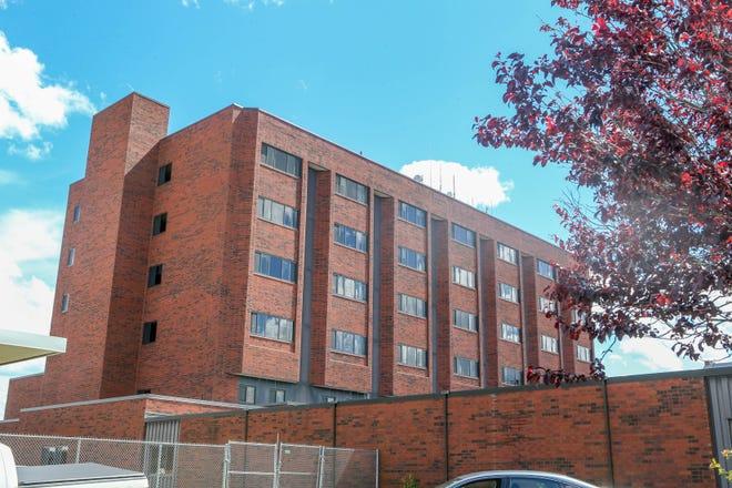 The Regan facility on the Cranston campus of Eleanor Slater Hospital.
