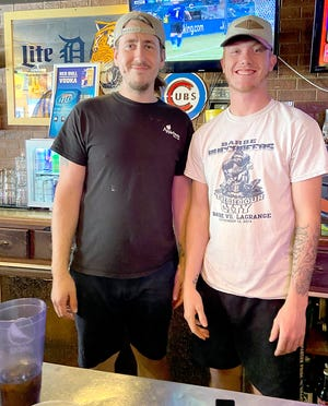 Josh Wood and Nolan Malcom, cooks at Pigeon Inn, are making the most of the pandemic, despite the fact that restaurants have been among the hardest hit.