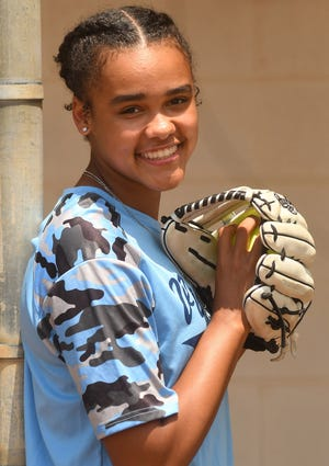 All-Area portrait for Hoggard's Icess Tresvik, our softball player of the year.  [KEN BLEVINS/STARNEWS]