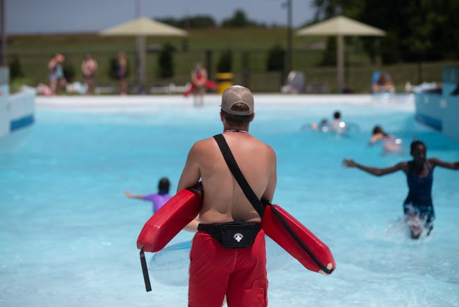 An online petition is urging Shawnee County to raise the wage for its lifeguards to $12 an hour. The county has had a more difficult time staffing lifeguards this summer, and some have pointed to the $8.50-an--hour pay as the reason.