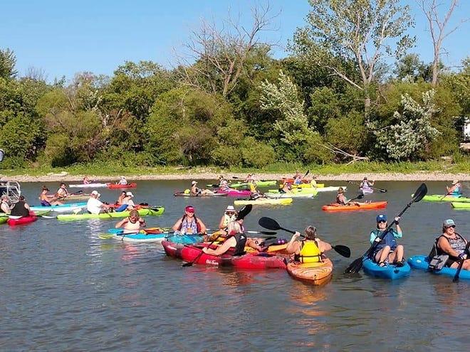 The Council Grove Marina will host a kayak poker run July 17 on Council Grove Reservoir.